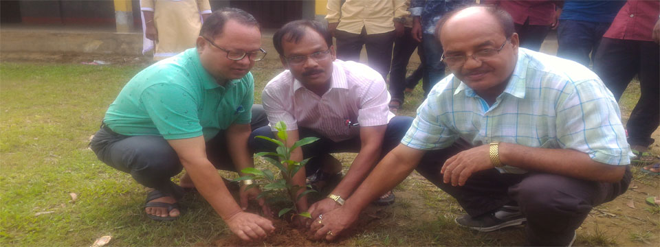 Moment of Plantation on College Foundation Day